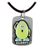 Egg Allergy Necklace or Charm