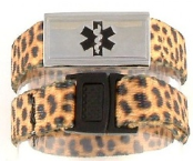 Kid's Leopard ID Sports Band