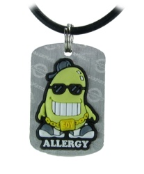 Soy Allergy Necklace or Charm