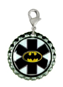 Dark Night Medical ID Charm
