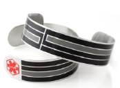 The Wright Cuff Medical ID Bracelet