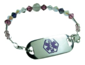 Balboa's Rose Medical ID Bracelet