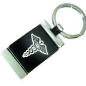 Medical ID Key Rings for Men