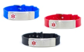 Nato Rubber Medical ID Bracelets
