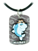 Fish Allergy Necklace or Charm
