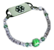 Green Taffy Medical ID Bracelet