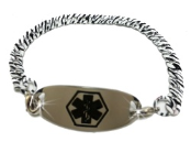 Bitty Zebra Medical ID Bracelet
