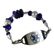 Blue Baby Medical ID Bracelet