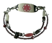 Blush Medical ID Bracelet