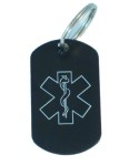Medical Alert ID Keychain-OT