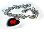 Medical ID Heart Bracelet D26