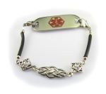 Filigree Medical Alert ID Bracelet