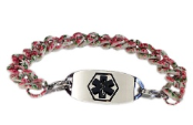 Bouquet Medical ID Bracelet