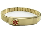 Ladies Expandable Medical ID Bracelet