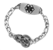 Knot Celtic Medical Bracelet
