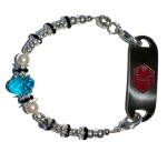 Majesty Medical ID Bracelet