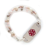 Pastel Delight Medical Alert ID Bracelet