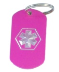 Medical Alert ID Keychain-FT