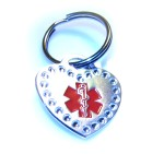 Medical Alert ID Keychain-SH