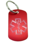 Star of Life Keychain-OO