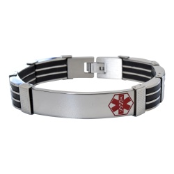 The Bloke Medical ID Bracelet