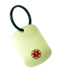Medical Alert ID Key Chain-45G