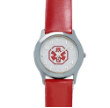 Lady's Red Medical ID Watch