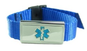 Blue Medical Sports Band