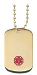 Medical Alert Necklace 45G