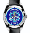 Diabetic Type 1 Watch Leather