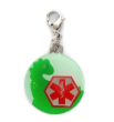 Dinosaur Medical ID Charm
