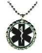 Black Cap EMS Necklace