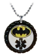 Black Night Med ID Necklace