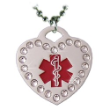 Medical ID Sparkling Heart