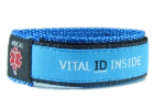 Light Blue Medical Sports Band