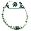 Silver Lining Medical ID Bracelet