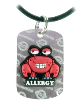 Shellfish Allergy Necklace or Charm