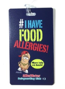 I Have Food Allergies Tag for Kids