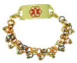 Autumn Chainmail Medical ID Bracelet