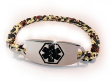 Bitty Leopard Medical ID Bracelet