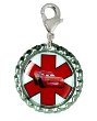 Rev It Up Medical ID Charm