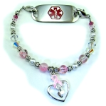 Cancer Awareness #1 Medical Bracelet