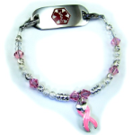 Cancer Awareness #2 Medical Bracelet