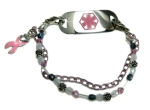 Cancer Awareness #4 Medical Bracelet