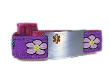 Her Purple Flowers Medical Bracelet