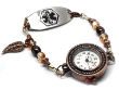 Copper Leaf Medical ID Watch