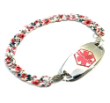 Dainty Floral Medical ID Bracelet