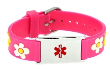 Girl's Daisy Medical ID Bracelet