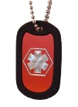 Medical Alert ID Dog Tag-F