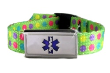 Dots On the Green Wristband